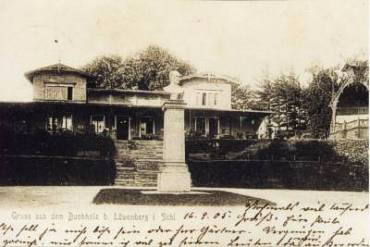 Das Blücher-Denkmal, aufgestellt im Jahr 1841 in Löwenberg
